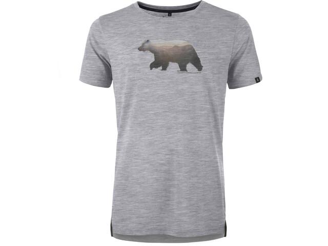 Pally'Hi Grizzland Koszulka Mężczyźni, heather grey